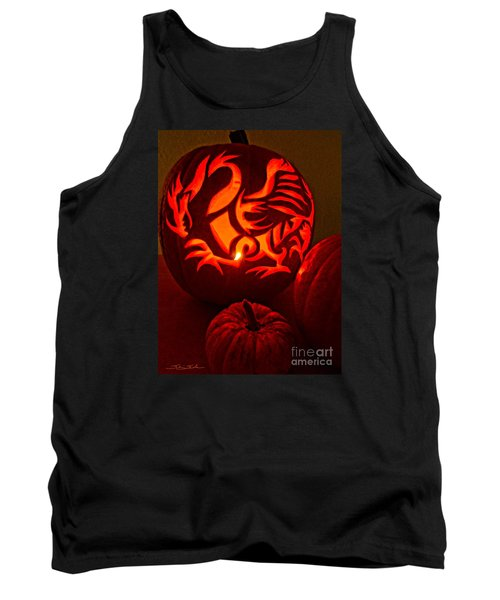 Dragon Lantern Tank Top