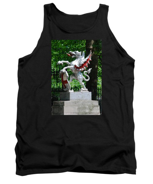 Dragon With St George Shield Tank Top