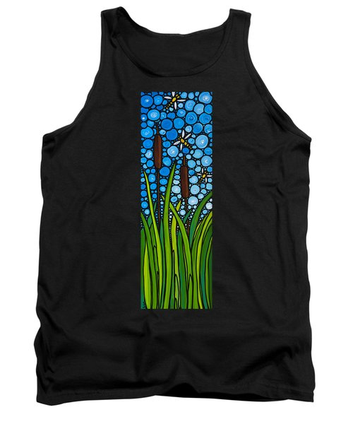 Dragonfly Pond By Sharon Cummings Tank Top