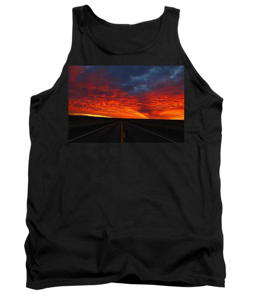 Tank Top featuring the photograph Dramatic Sunrise by Lynn Hopwood
