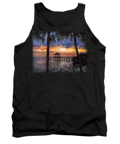 Tank Top featuring the photograph Dream Pier by Hanny Heim