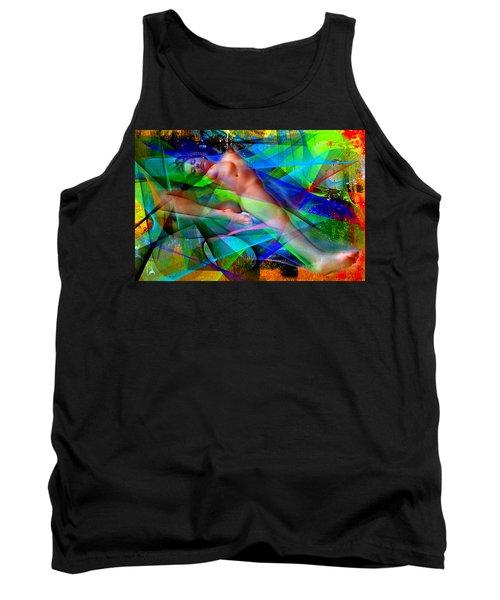 Tank Top featuring the digital art Dreams In Color by Rafael Salazar