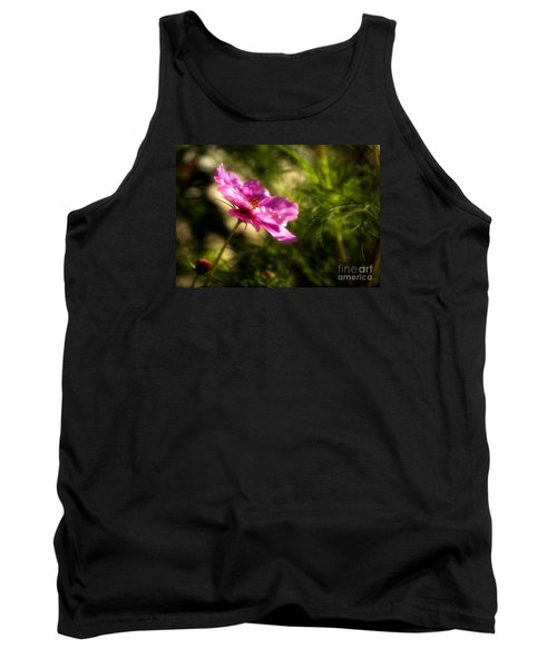 Dreamy Pink Comos Tank Top by Marjorie Imbeau