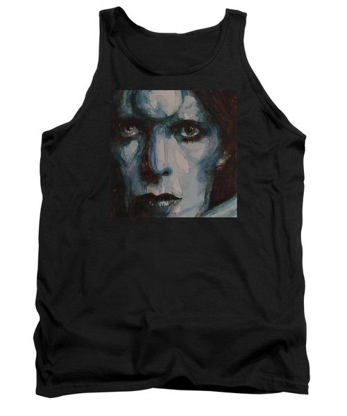 Drive In Saturday Tank Top by Paul Lovering