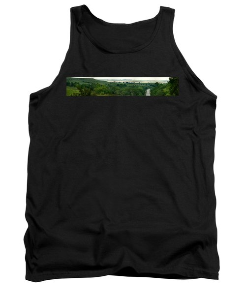 Tank Top featuring the photograph Drive The Flint Hills by Brian Duram