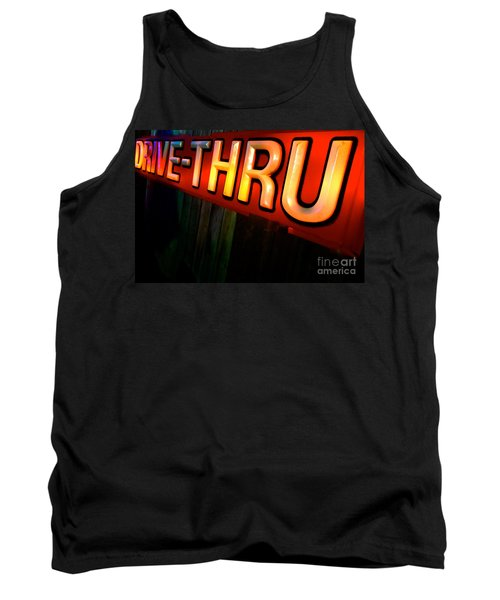 Drive Thru Tank Top by Jacqueline Athmann