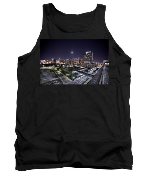 Tank Top featuring the photograph Dte In Detroit by Nicholas  Grunas