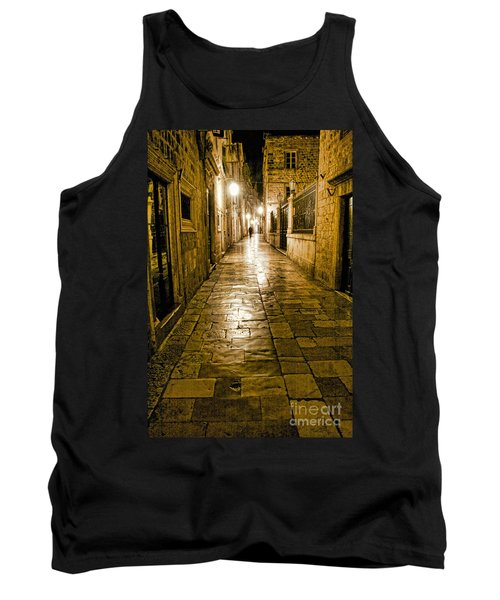 Dubrovnik Streets At Night Tank Top