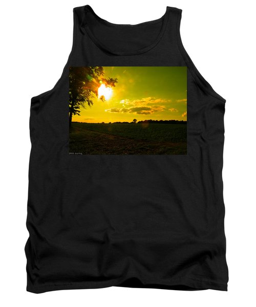 Duck Flying Low Cloud 2 Tank Top by Nick Kirby