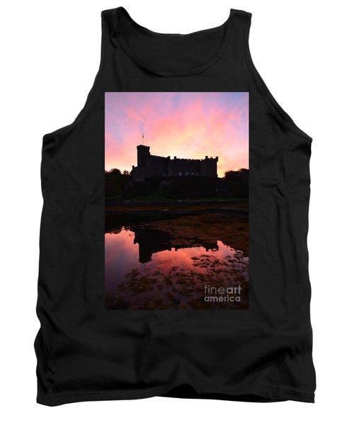 Dunvegan Castle At Dawn Tank Top by DejaVu Designs