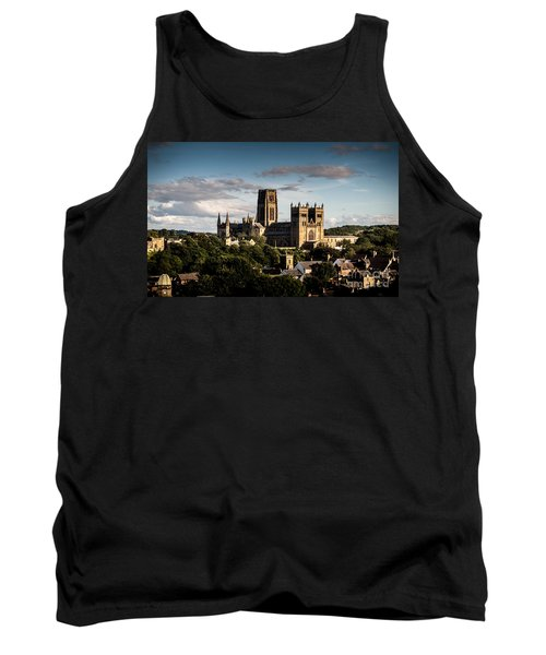 Tank Top featuring the photograph Durham Cathedral by Matt Malloy