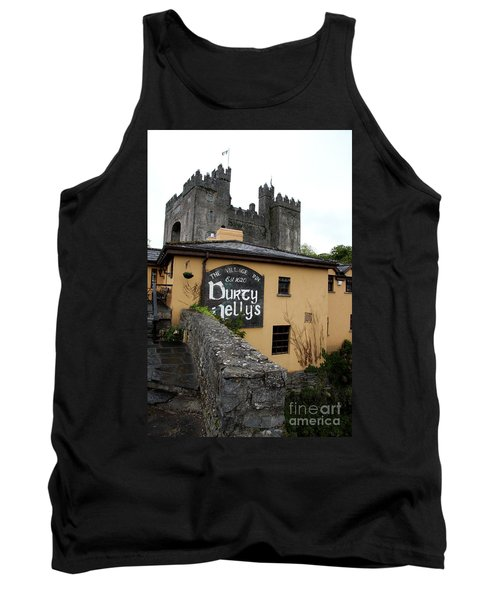 Durty Nellys And Bunraty Castle Tank Top by Christiane Schulze Art And Photography