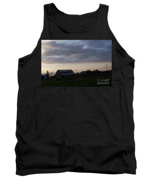 Tank Top featuring the photograph Dusk Til Dawn by Bobbee Rickard