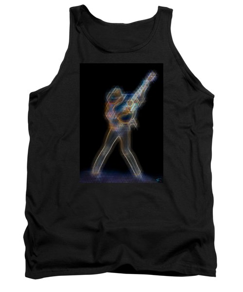 Dwight Noise Tank Top by Kenneth Armand Johnson