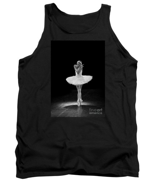 Dying Swan 5. Tank Top by Clare Bambers