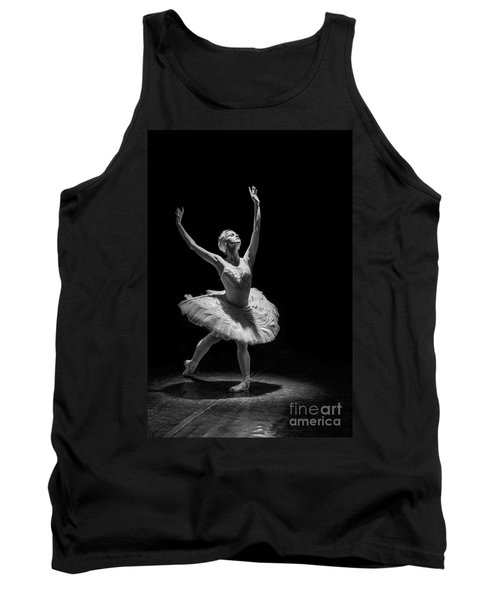 Dying Swan 6. Tank Top by Clare Bambers