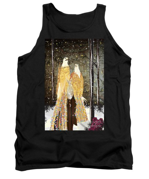 Winter Dress Tank Top by Kim Prowse