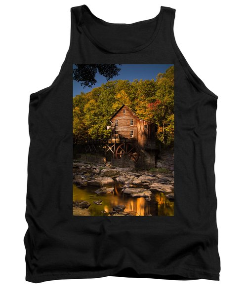 Early Autumn At Glade Creek Grist Mill Tank Top