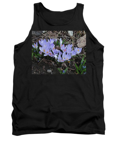 Early Crocuses Tank Top
