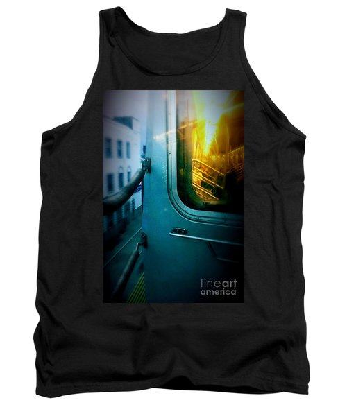 Early Morning Commute Tank Top by James Aiken