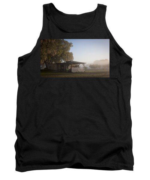 Tank Top featuring the photograph Early Morning On The Farm by Lynn Palmer