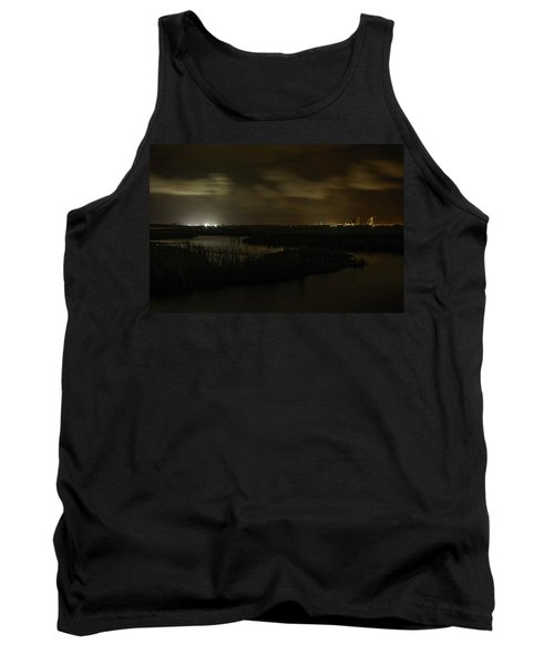 Early Morning Over Lake Shelby Tank Top by Michael Thomas