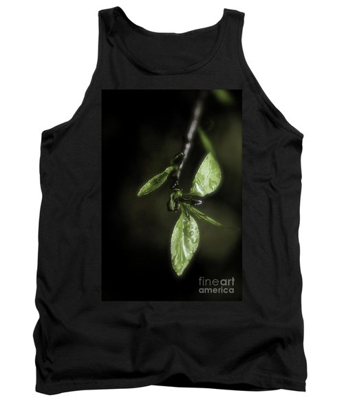Early Spring Leaves Tank Top