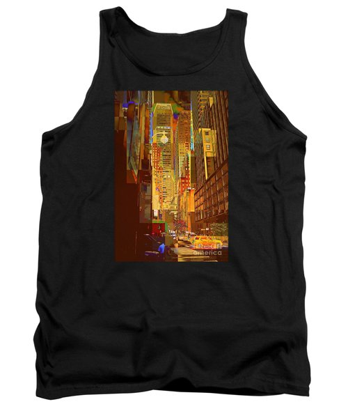 East 45th Street - New York City Tank Top