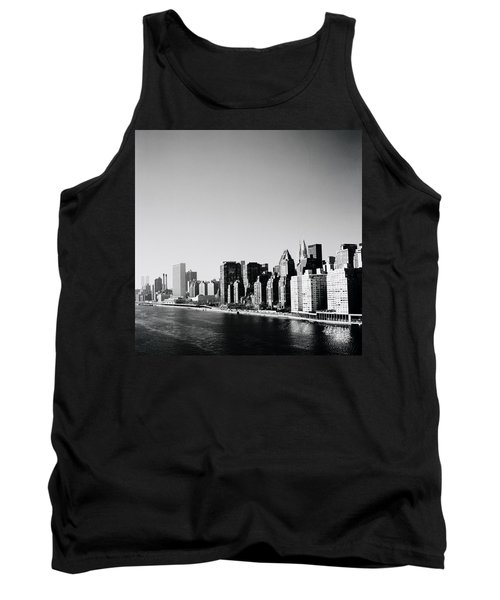 East River New York Tank Top by Shaun Higson