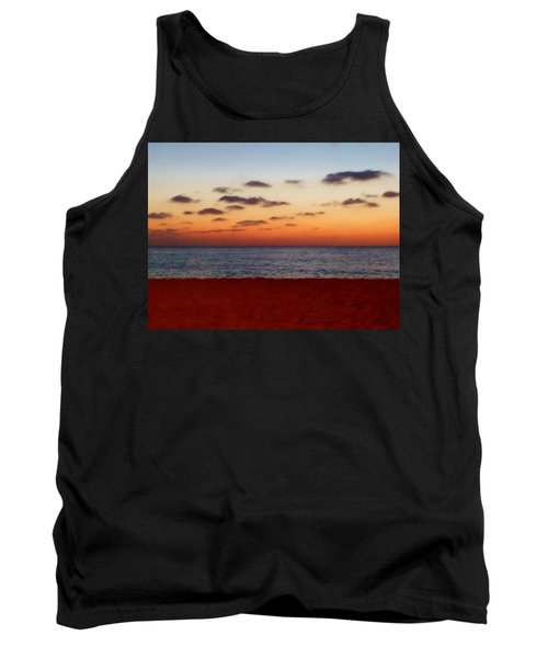 Tank Top featuring the photograph Easter Sunset by Amar Sheow