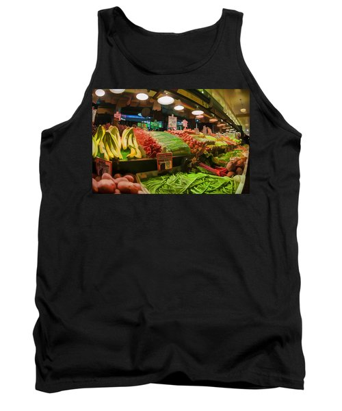 Eat Your Fruits And Vegetables Tank Top