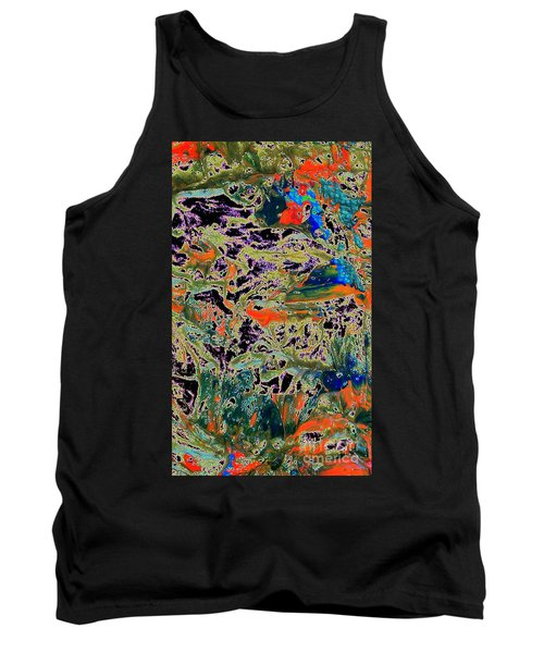 Ebb And Flow Tank Top by Jacqueline McReynolds