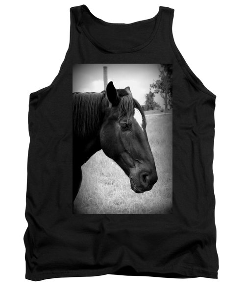 Tank Top featuring the photograph Ebony Beauty by Laurie Perry
