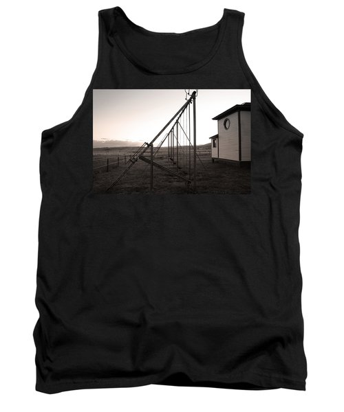 Tank Top featuring the photograph Echoes Of Laughter by Jim Garrison