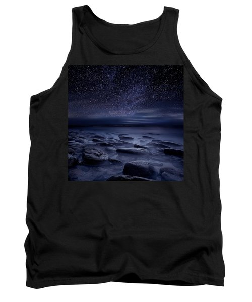 Echoes Of The Unknown Tank Top by Jorge Maia