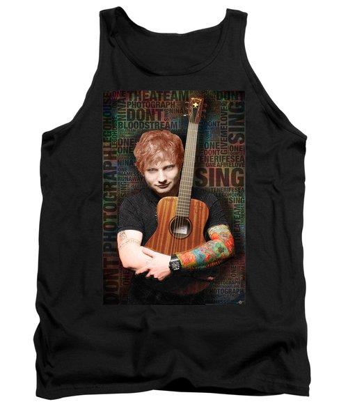 Ed Sheeran And Song Titles Tank Top