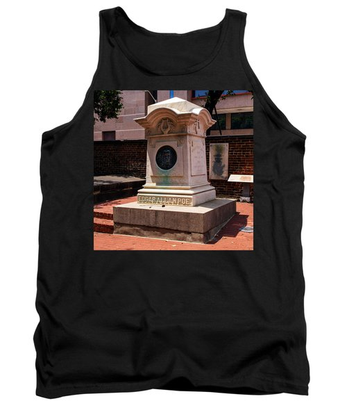 Edgar Allan Poe Tomb Tank Top