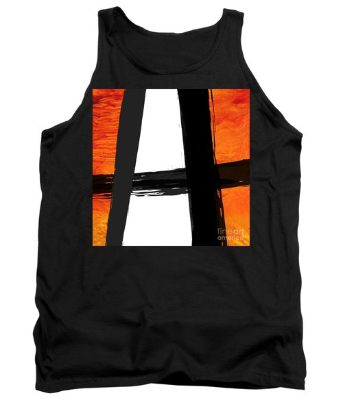 Tank Top featuring the painting Edge II by Paul Davenport
