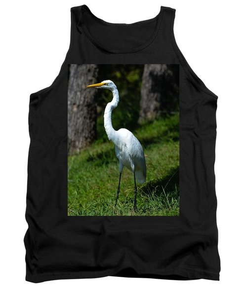 Egret - Full Length Tank Top