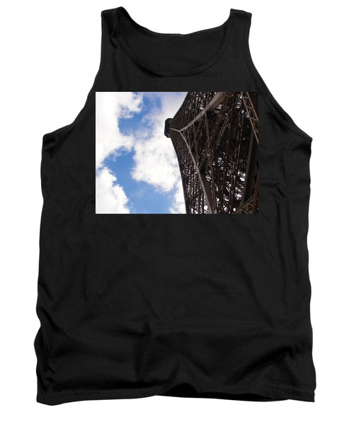 Tank Top featuring the photograph Eiffel Tower by Tiffany Erdman