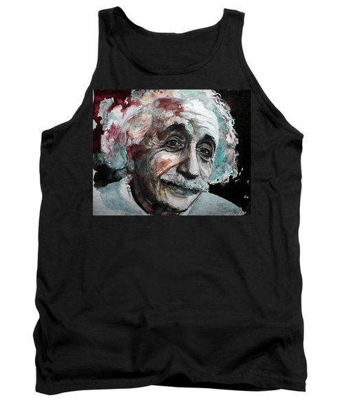 Einstein  Tank Top by Laur Iduc