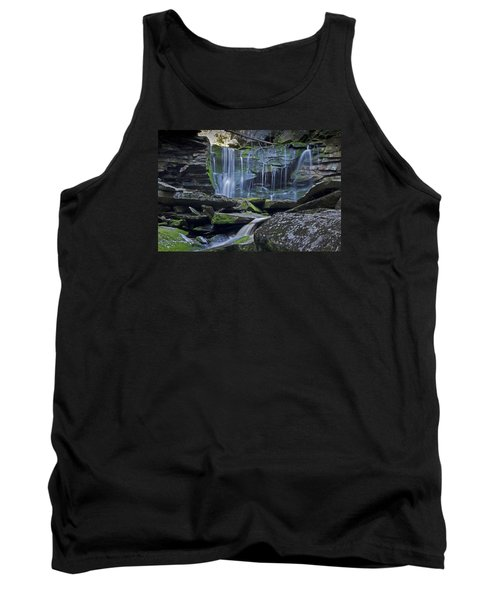 Elakala Falls Number 1 Tank Top by Shelly Gunderson