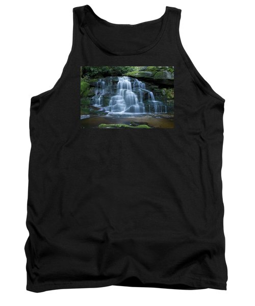 Elakala Falls Number 2 Tank Top by Shelly Gunderson