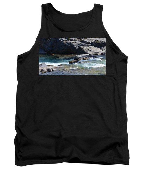Elbow Falls Landscape Tank Top