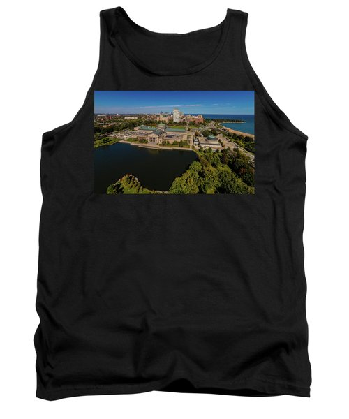 Elevated View Of The Museum Of Science Tank Top
