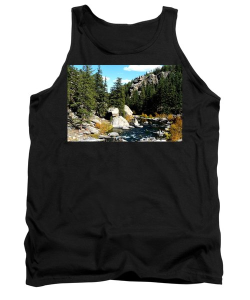 Eleven Mile Canyon Stream Tank Top