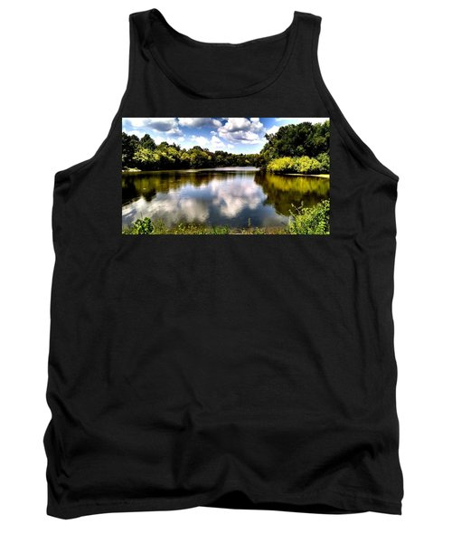 Tank Top featuring the photograph Elk Creek Tennessee by Chris Tarpening