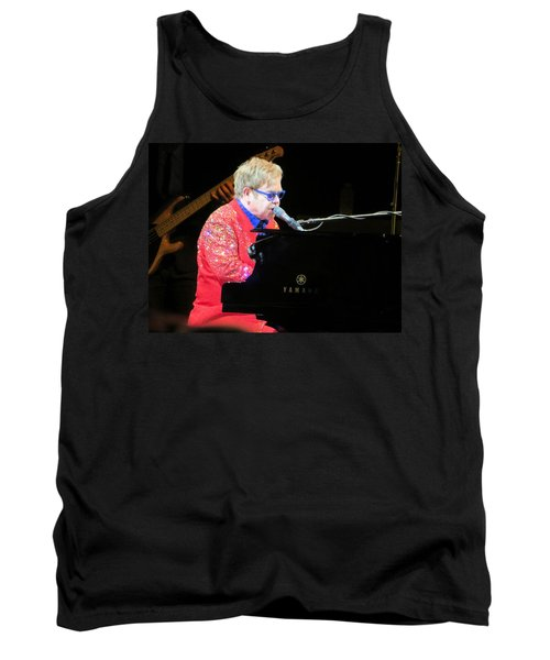 Elton John Live Tank Top