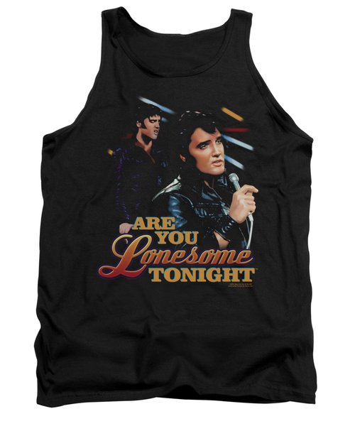 Elvis - Are You Lonesome Tank Top by Brand A