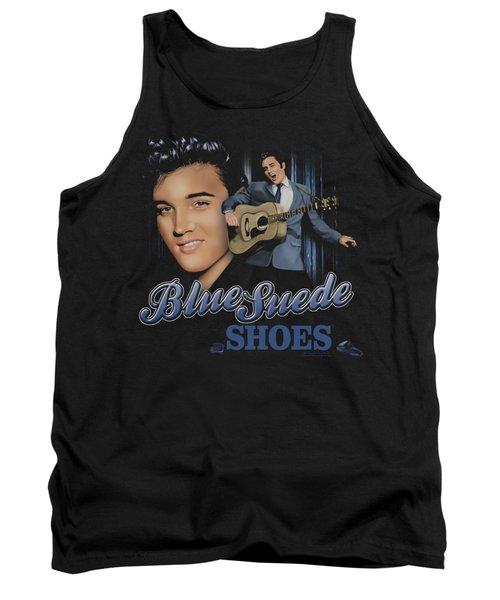 Elvis - Blue Suede Shoes Tank Top